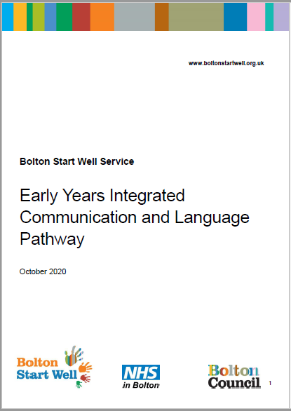 Bolton Early Years Integrated Communication and Language Pathway